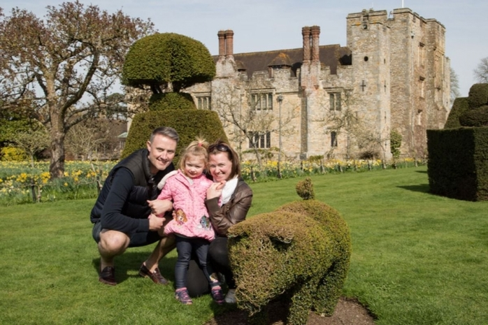 Mother's Day Weekend at Hever Castle