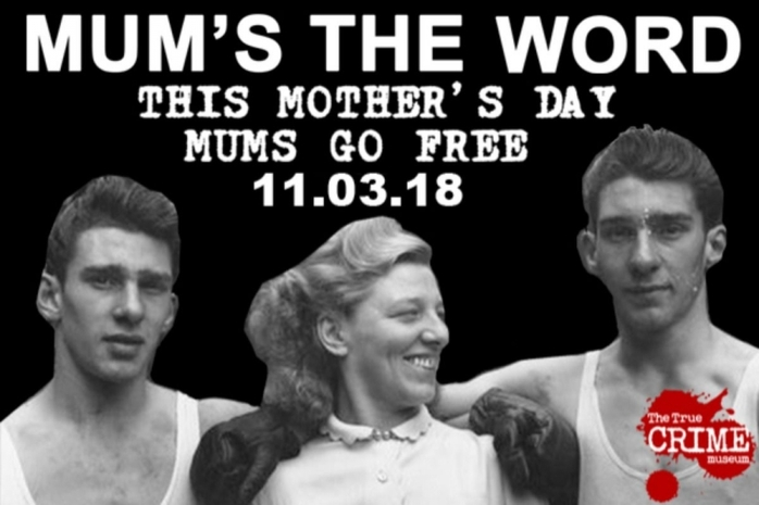 Mum's the Word FREE Entry at the True Crime Museum
