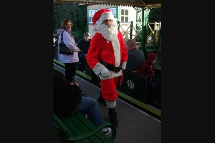 Santa Specials on South Downs Railway